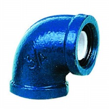 PP-lined Malleable Cast Iron Fittings w/ Outer Epoxy Coating